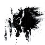 black-paint-splash-
